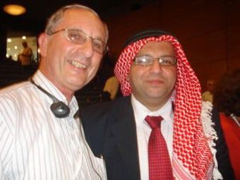 Michael Kuttner with Nudar Zahran