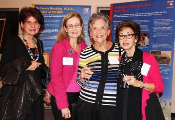Mary Grozinger, Gabrielle Upton MP, Jenny Burman, Victoria Nadel