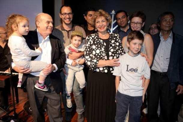 Natan Sharansky and family