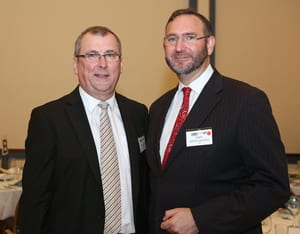 Mark Lennon and Rabbi Jeremy Lawrence