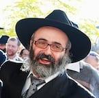 Rabbi Sholom Mendle Kluwgant, Leon Schnall and Rabbi Meir Shlomo Kluwgant