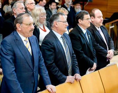 Robert Goot, Richard Balkin, Shmuel ben Shmuel and Yair Miller
