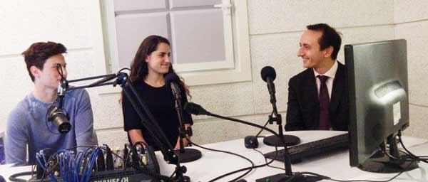 Jonah Wise and Elana Forbes interview ambassador Dave Sharma