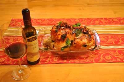 Shivi Drori's baked chicken