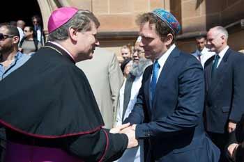 The Catholic Archbishop of Sydney--Archbishop Anthony Fisher and Jeremy Spinak
