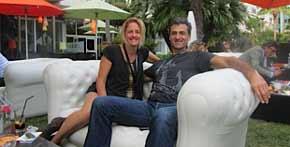 Lindy and Eddie Tamir