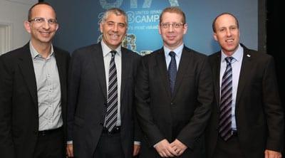 Gary Perlstein, Lance Rosenberg, Ofir Gendelman and Sagi Ben-Yosef