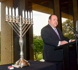 NSWJBF President Yair Miller