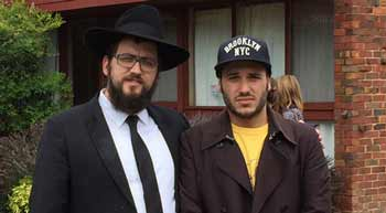 Rabbi Shmueli Feldman and Leo Bokhozba