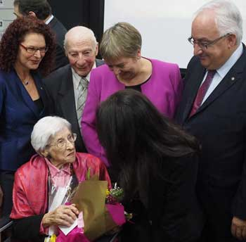 Constance Koster with Sue Hampel, Jewish Holocaust-Centre Co-President Phillip-Maisel, Joe-De-Haan, Her-Excellency-Annemieke-Ruigrok,-Dutch-Ambassador-to-Australia;-Cr-Vanessa-Huxley,-City-of-Port-Phillip.jpg