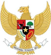 The national emblem of Indonesia