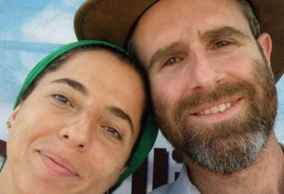 Victim of terror Dafna Meir and her husband, Nathan. Credit: Courtesy Meir family.
