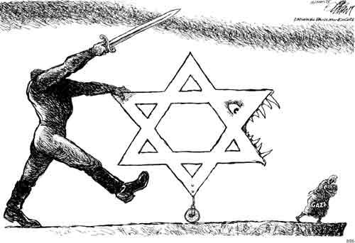 The offending cartoon