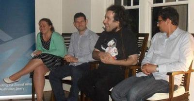 Sasha Klyachkina, Gary Samowitz, Bram Presser and Manny Waks