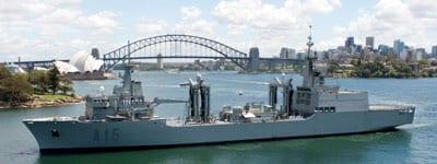 The Spanish navy in Sydney