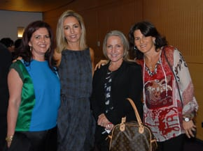 Judy Lowy, Lauren Fink, Lisa Goldberg and Julie Rosenberg