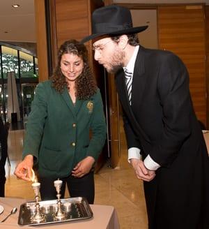Jessica Fox and Rabi Levi Wolff