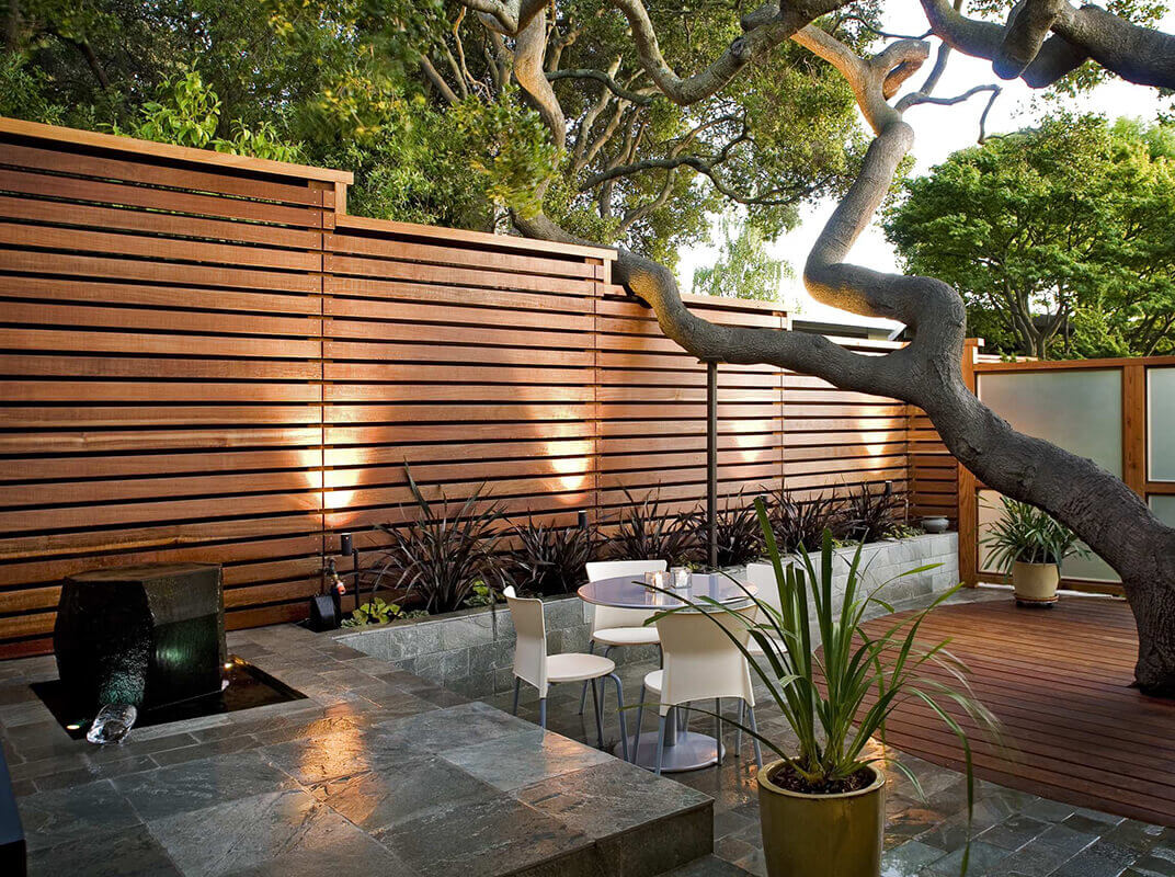 Spruce Up Your Yard With A Horizontal Fence Horizontal Fencing Tips