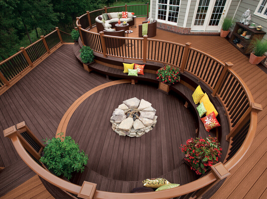 which trex decking colors should i