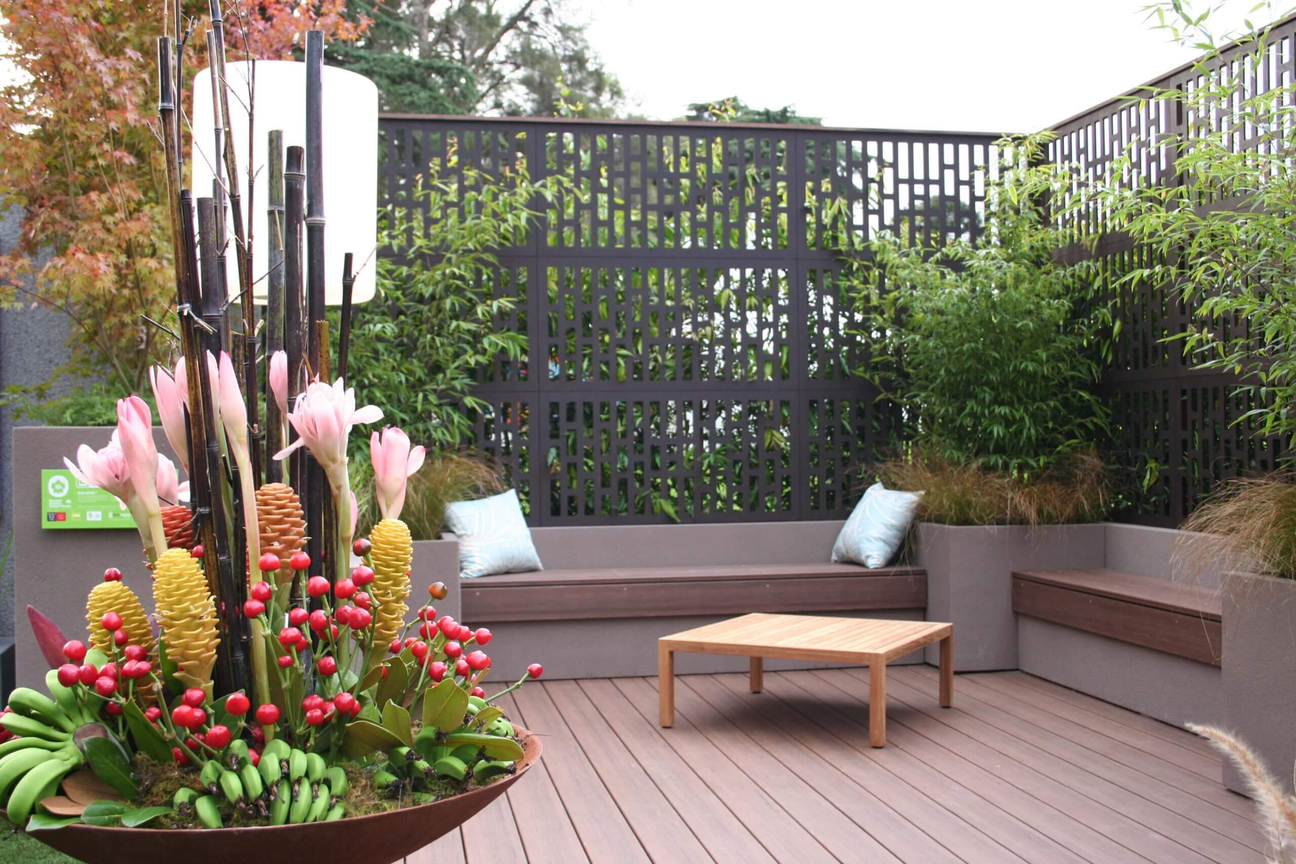 decorative screen panels outdoor