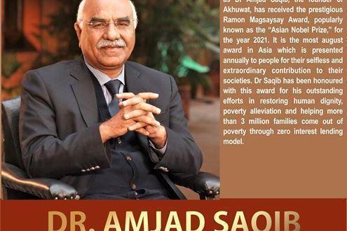 Dr Amjad Saqib