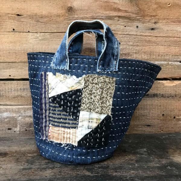 Boro Recycled Denim Bag