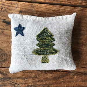 Maine State Flag Evergreen Sachet