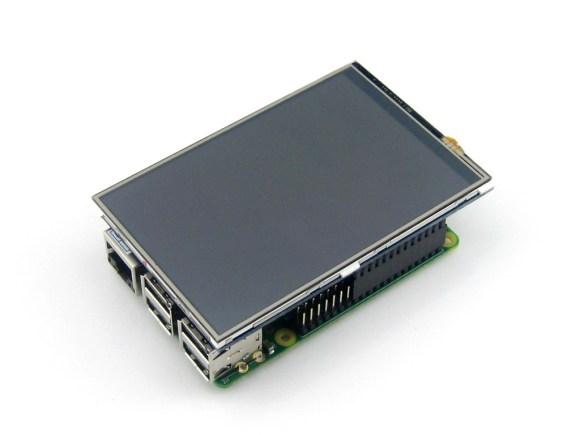 4 inch LCD display