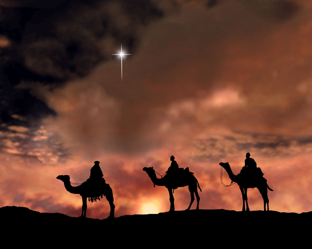 Image result for the wisemen and the star pics