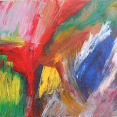 Abstract painting by JY
