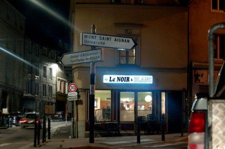 café Le NOIR & BLANC à Rouen