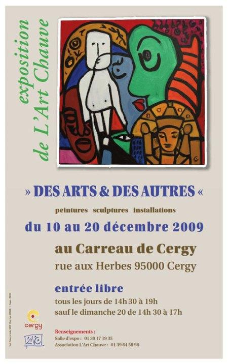"""Exposition ART CHAUVE """"DES UNS ET DES AUTRES"""""""