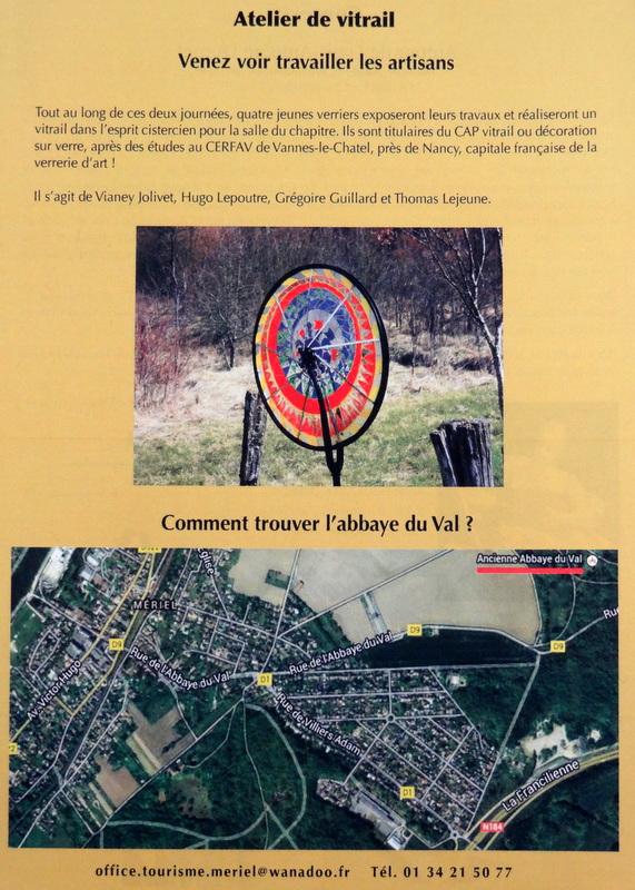 programme Abbaye du Val détail suite
