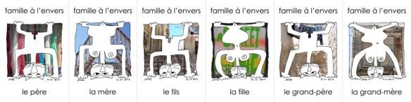 famille à l'envers à Marseille