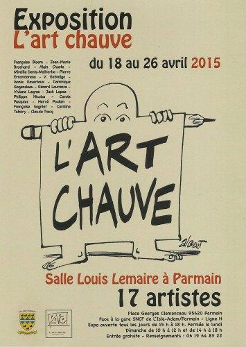 affiche Art Chauve à Parmain