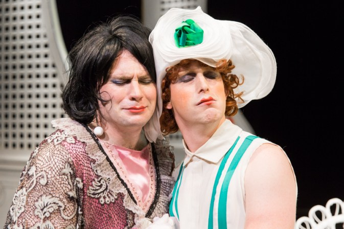 Graham Pilato and Robert Sheire in Scena Theatre's production of 'The Importance of Being Earnest'.'