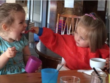 how to share - toddler style