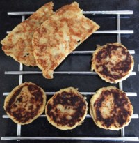 Tattie scones cool