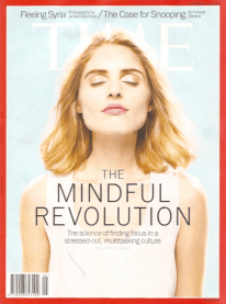 Time discovers mindfulness