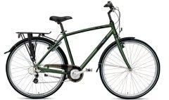 Peruspyörä on useimmiten varusteltu. Ajoasento on pysty.