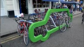 Pyöräparkki Montrealissa.