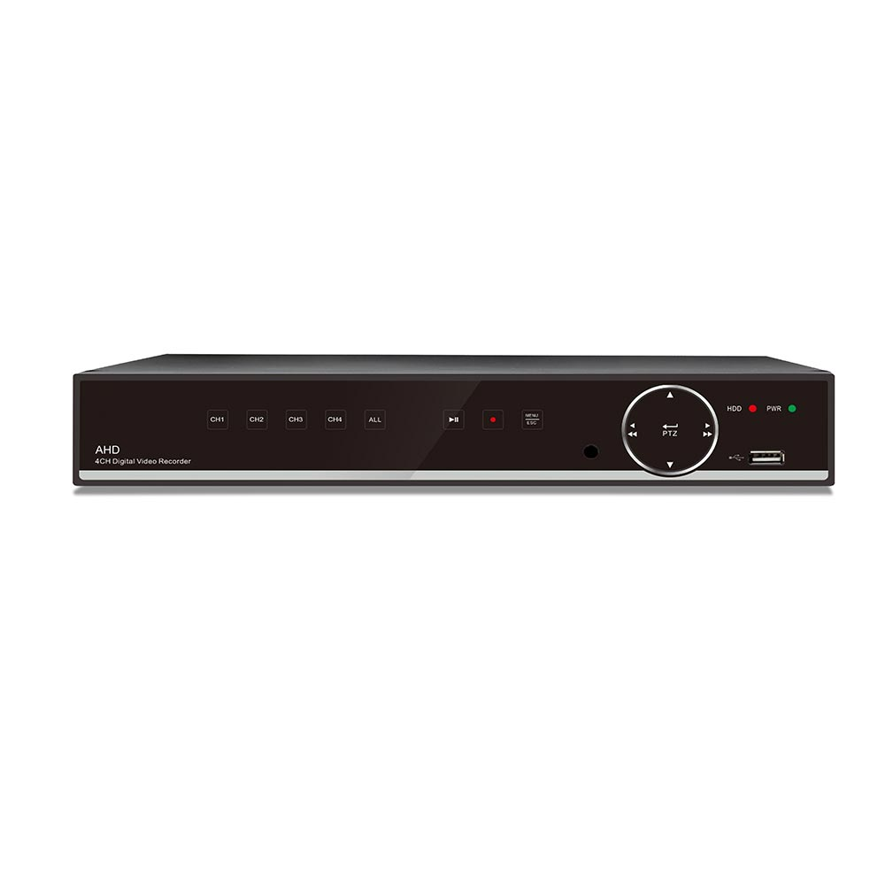 HD1080P DVR 4 Kanals H.264 Optager Med Harddisk 2TB/USB/VGA/HDMI
