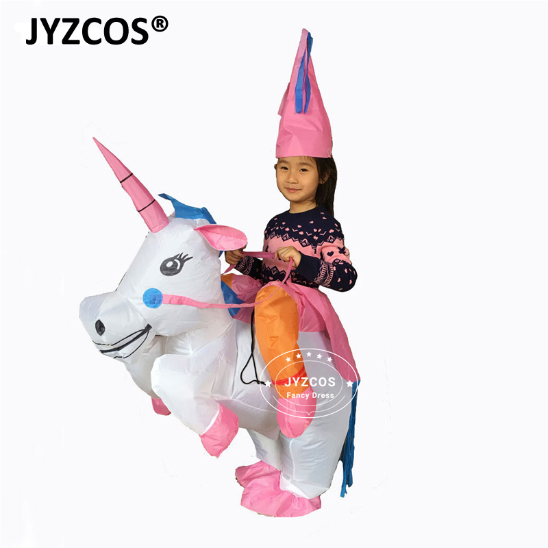 ef03b2fa7d859 Inflatable Unicorn Costumes for Kids Adults Purim Halloween Fancy Dress One  Size