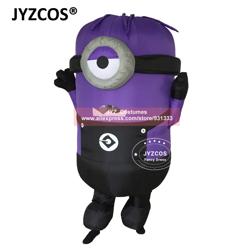 JYZCOS Inflatable Adult Minion Costume ...  sc 1 st  JYZCOS Inflatable Costumes & JYZCOS Inflatable Adult Minion Costume Mascot Costume Despicable Me ...