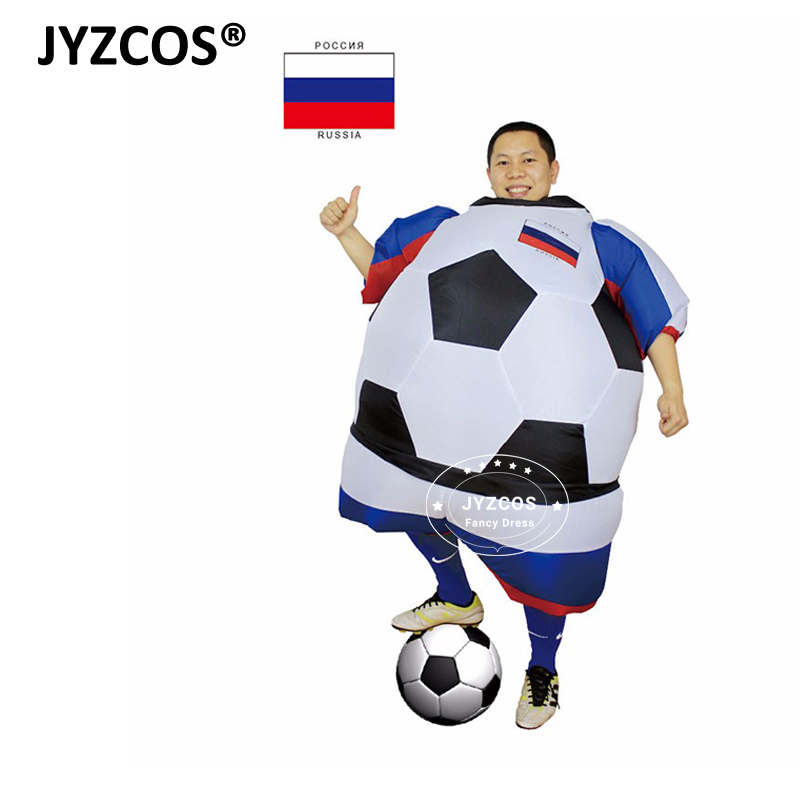 JYZCOS Russia Football Player Inflatable Costume for Men and Women Adults Soccer Costume  sc 1 st  JYZCOS Inflatable Costumes & JYZCOS Russia Football Player Inflatable Costume for Men and Women ...
