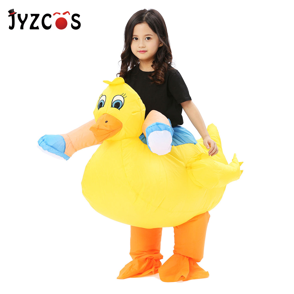 Adult Inflatable Duck Costume Carnival Halloween Party Animal Cosplay Costume