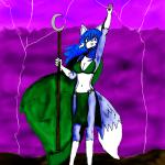 Mareena the Wolf Mage