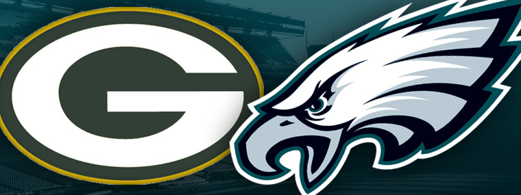 Image result for Packers vs. Eagles
