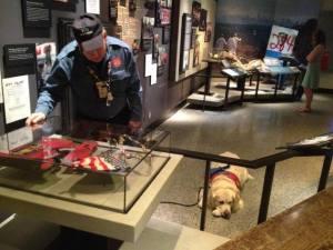 Frank Shane at Museum