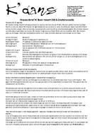 Nieuwsbrief maart 2016 Zoeterwoude